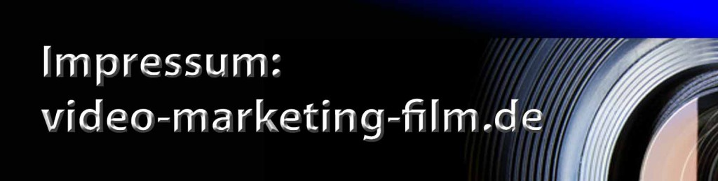 Imptressum video-marketing-film-de